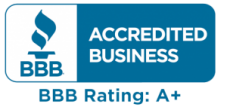 BB accredited business BBB Rating: A+